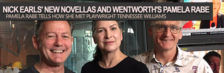 Read more about the article Nick Earls' new novellas and Wentworth's Pamela Rabe