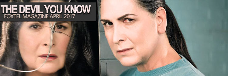 Pamela Rabe - Foxtel Magazine April 2017