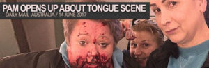 Read more about the article Pamela Rabe opens up about Wentworth's tongue scene