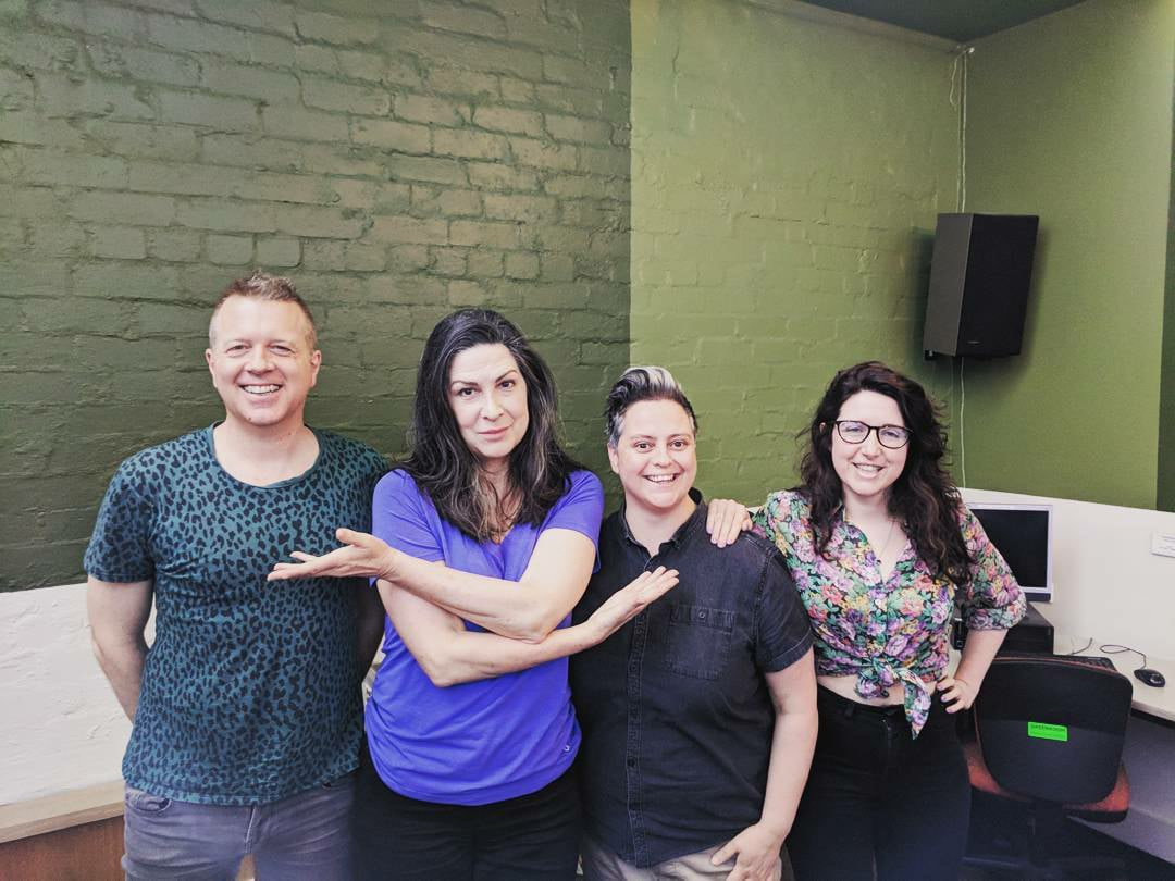 Pamela Rabe at Radio RRR 2017