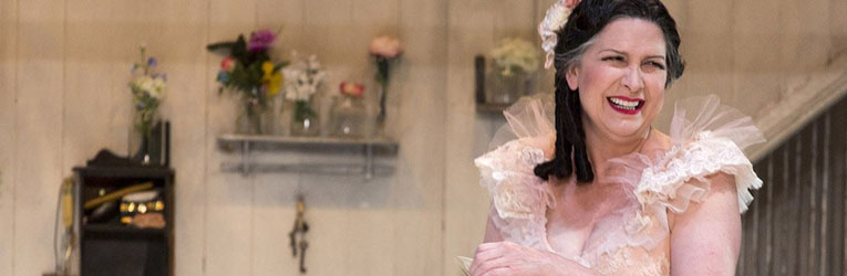 Pamela Rabe in The Glass Menagerie