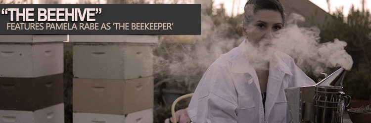 "Pamela Rabe as The Beekeeper in ""The Beehive"""