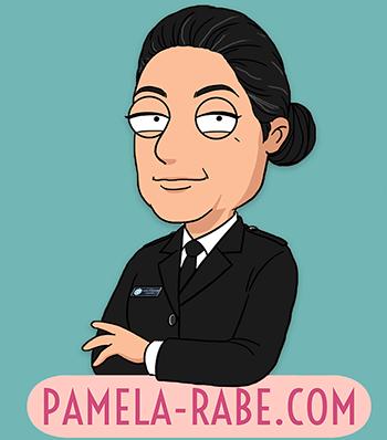 Pamela Rabe | Pamela-Rabe.com Logo
