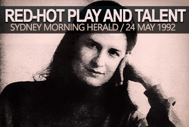 Pamela Rabe | Red-Hot Play and Red-Hot Talent (1992 Interview)