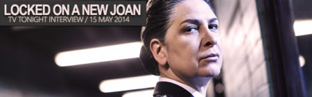 Pamela Rabe locked on a new Joan Ferguson