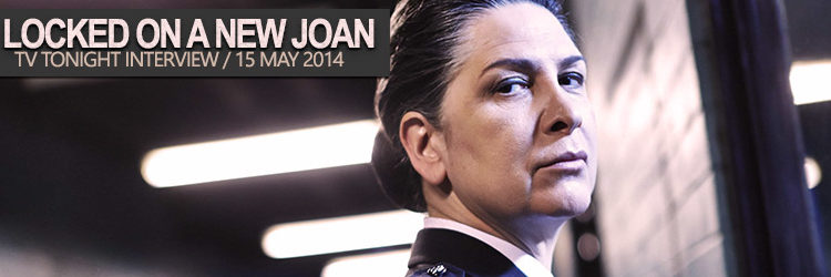 Pamela Rabe locked on a new Joan Ferguson