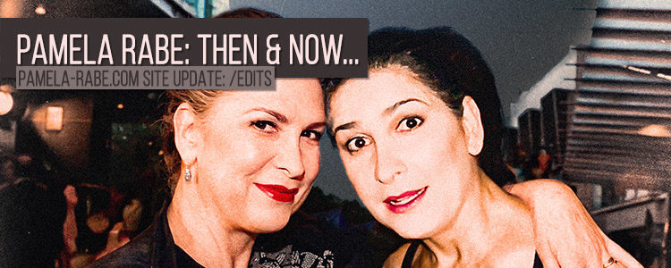 Pamela Rabe | Then and Now