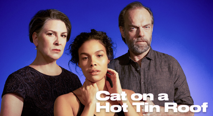 Pamela Rabe in Cat on a Hot Tin Roof