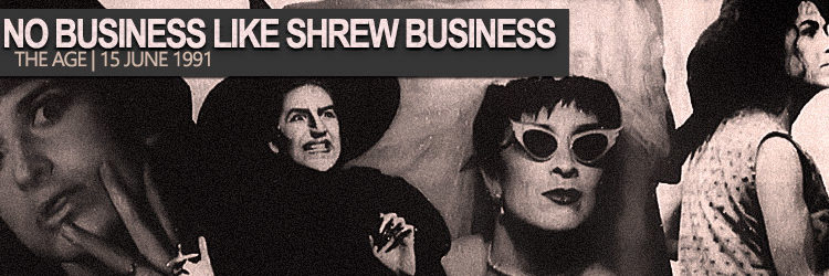 Pamela Rabe | No Business Like Shrew Business 1991