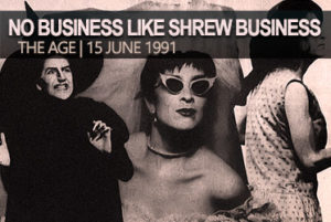 Pamela Rabe | No Business Like Shrew Business