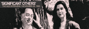 Read more about the article Significant Others | Pamela Rabe & Roger Hodgman | The Age 1993