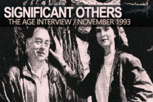 Pamela Rabe & Roger Hodgman   The Age Interview 1993