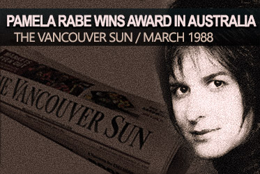 Pamela Rabe wins award in Australia 1988