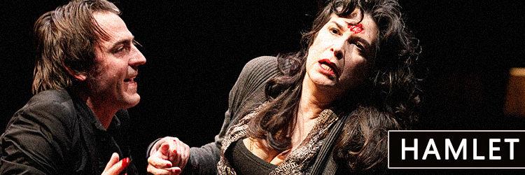 Pamela Rabe in Hamlet 2011