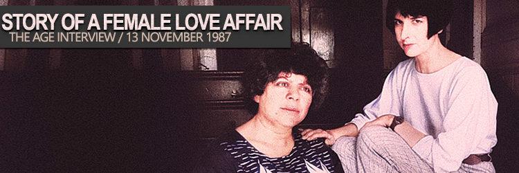 Pamela Rabe Story of a Female Love Affair