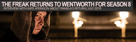 Kate Atkinson interview about Pamela Rabe's return to Wentworth