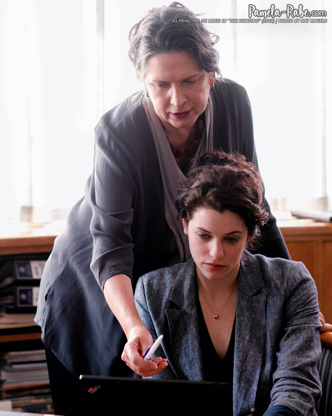 Pamela Rabe as Principal De Rossi in The Hunting