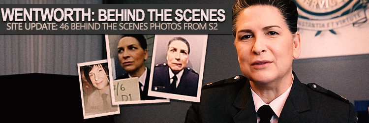 Pamela Rabe as Joan Ferguson | Wenworth Season 2 Behind The Scenes