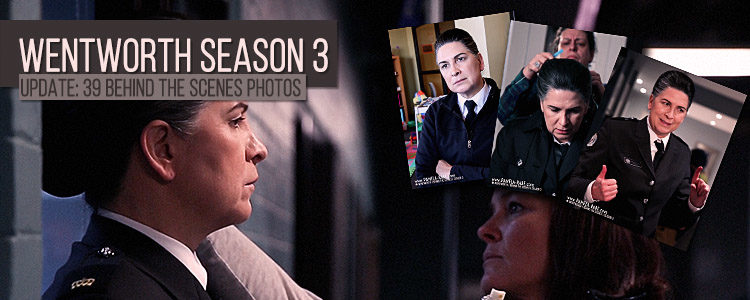 Pamela Rabe as Joan Ferguson | Wentworth Season 3 Behind The Scenes