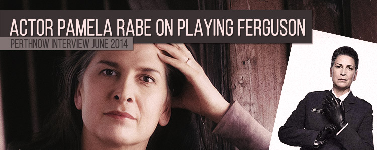 Pamela Rabe about playing Joan Ferguson 2014