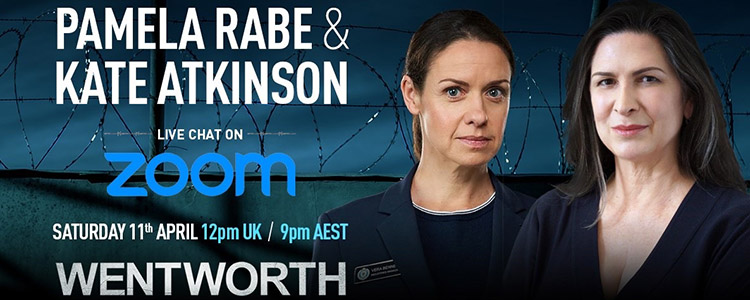 Pamela Rabe and Kate Atkinson SSE Zoom Live Chat