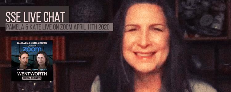 Pamela Rabe & Kate Atkinson Live on Zoom