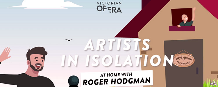 Artists in isolation: Roger Hodgman and Pamela Rabe