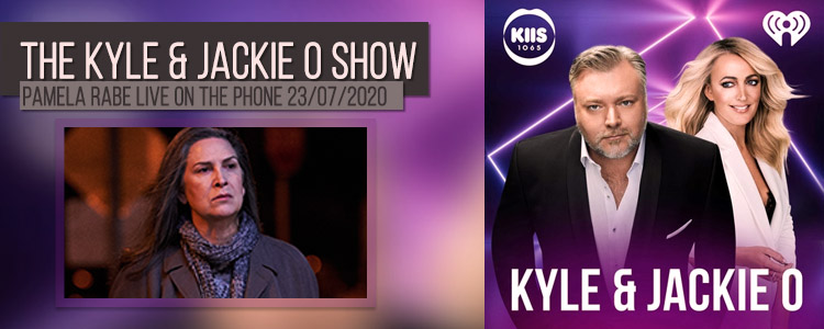 Pamela Rabe | Kyle and Jacki O Show July 2020