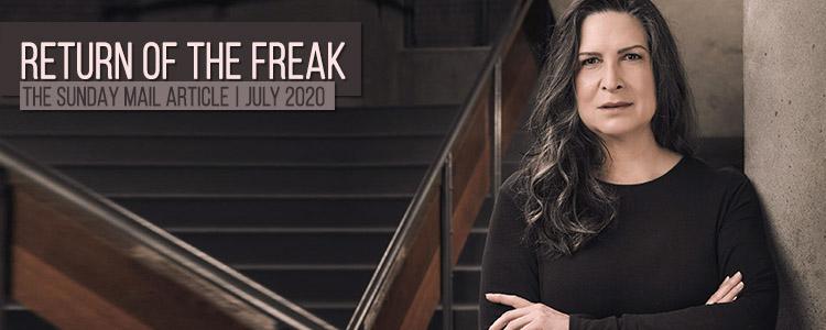 Pamela Rabe | The Return of The Freak