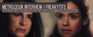 """Read more about the article Pamela Rabe about """"Freakytits"""" – 'It's very deliberate!'"""