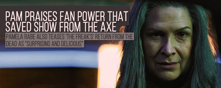 Read more about the article Pamela Rabe praises fan power that saved show from the axe
