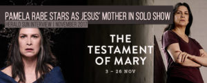 Read more about the article Wentworth's Joan 'The Freak' Ferguson actress Pamela Rabe stars as Jesus' mother in solo show