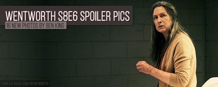 Pamela Rabe | Wentworth Season 8 Episode 6 Spoiler Pics