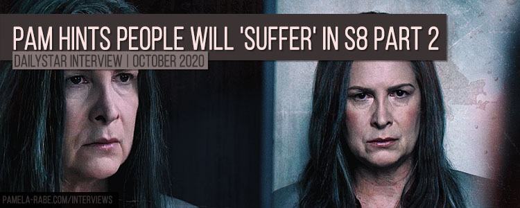 Pamela Rabe hitns people will suffer in Wentworth Season 8 Part 2 - coming 2021