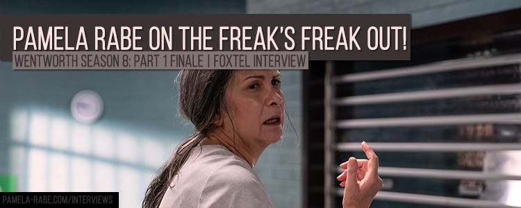 Pamela Rabe Wentworth Seasojn 8 Finale Foxtel Interview