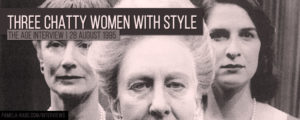 Read more about the article Three Chatty Women With Style
