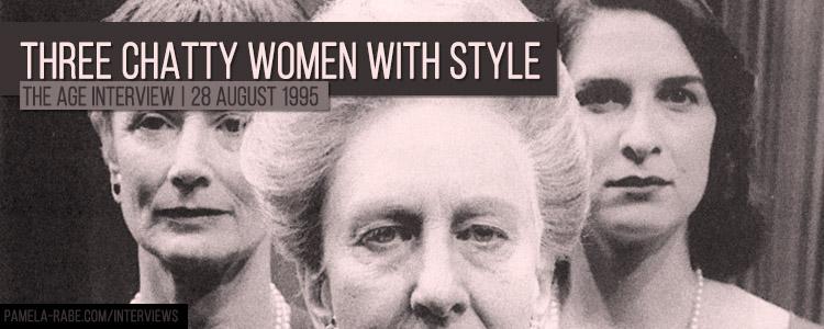 Pamela Rabe | The Chatty Women | Interview 1995