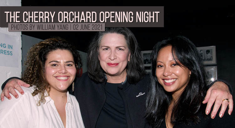 Pamela Rabe at the Cherry Orchard Opening Night
