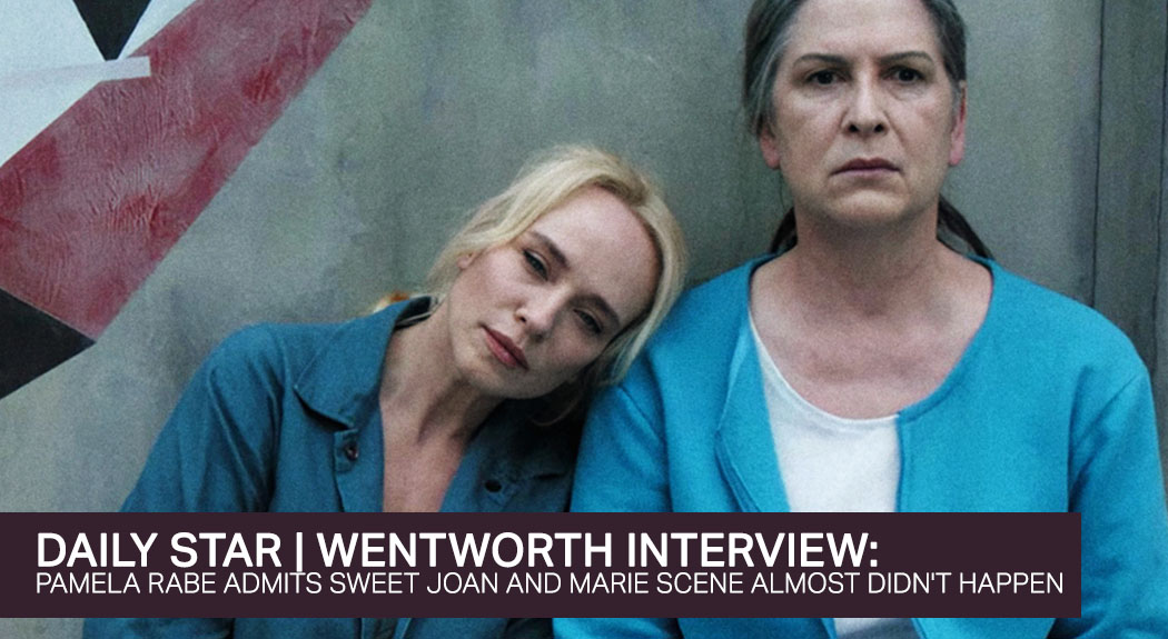 Read more about the article Wentworth's Pamela Rabe admits sweet Joan and Marie scene almost didn't happen