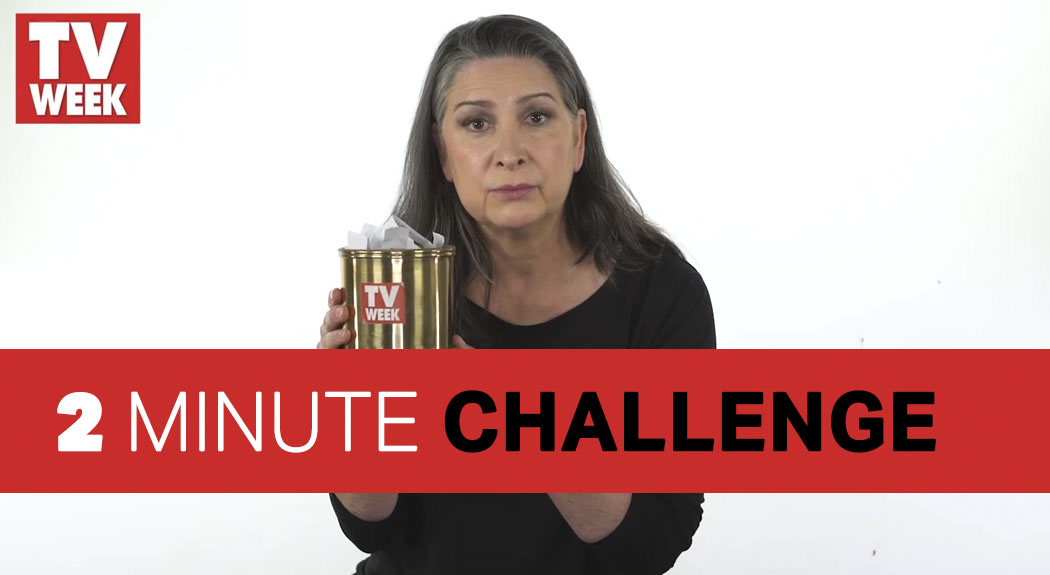 Read more about the article Pamela Rabe TV WEEK 2 Minute Challenge