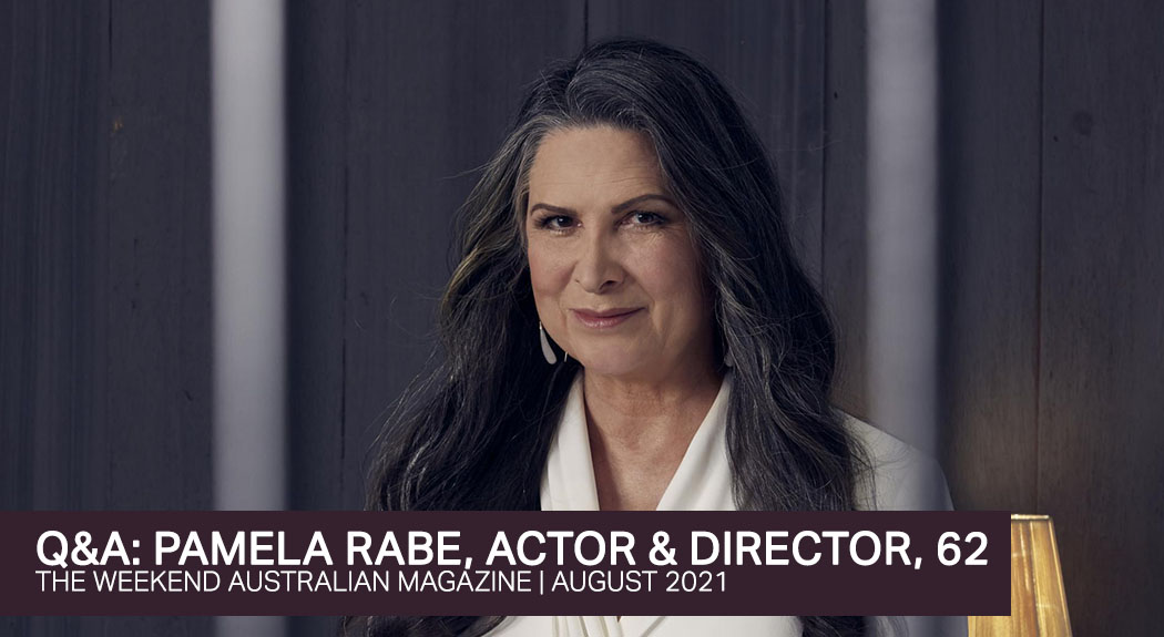 Read more about the article New Pamela Rabe Q&A for The Weekend Australian Magazine