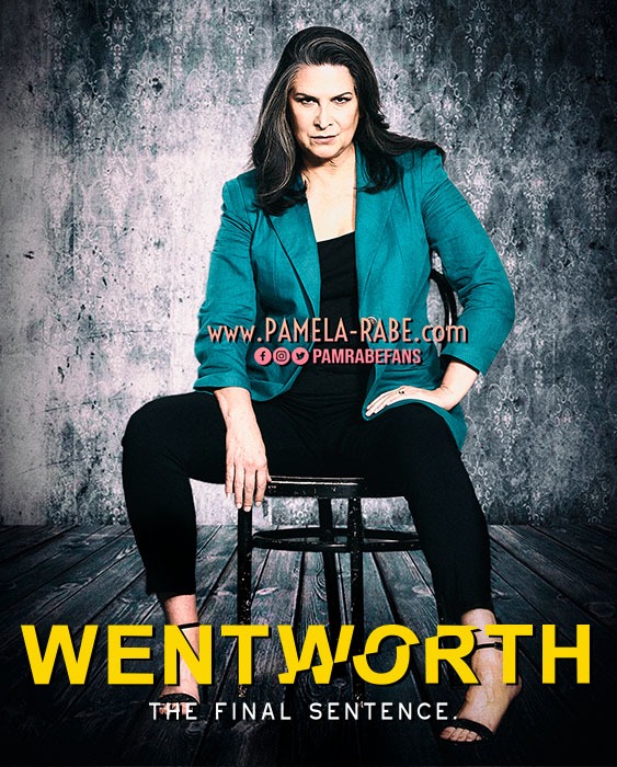 Pamela Rabe TV Week Shoot