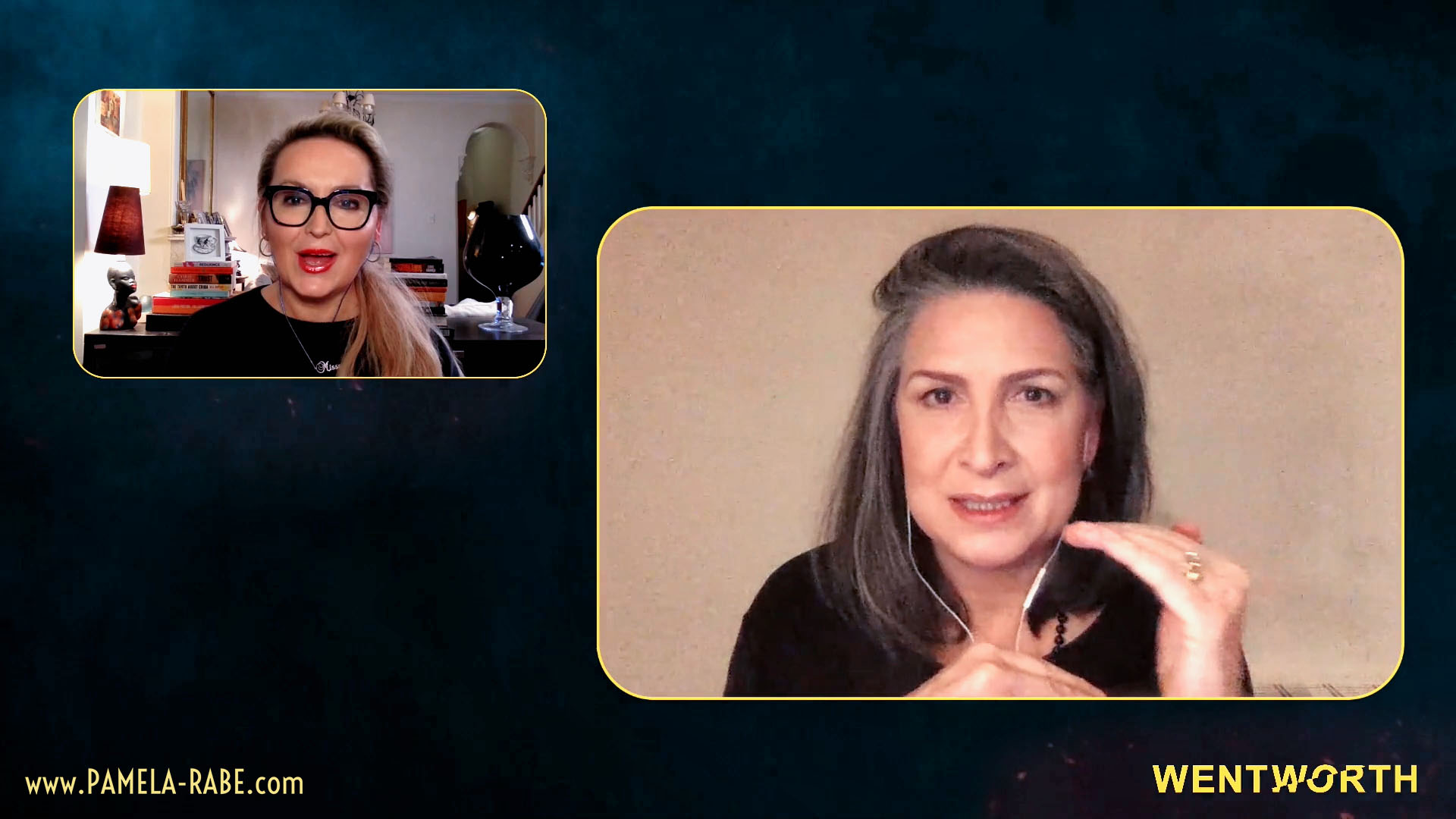 Read more about the article Wentworth Live Chat with Pamela Rabe