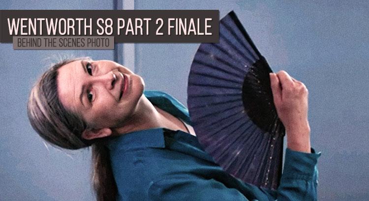Pamela Rabe Wentworth Season 8 Part 2 BTS